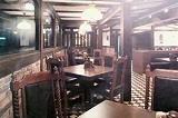 昭和50年、バーベキューからレストランへと業態変更にともない、インテリアを大改造。