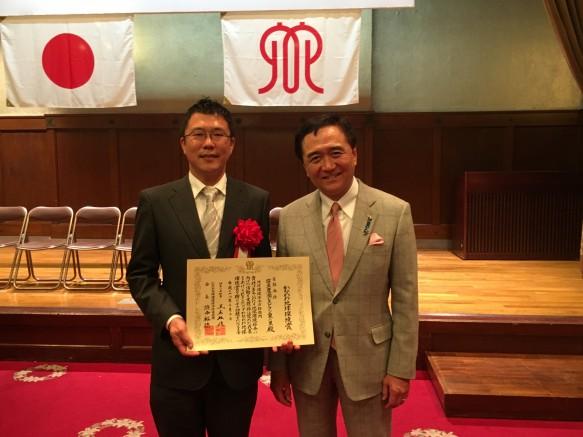 黒岩県知事と米農家9代目笹生