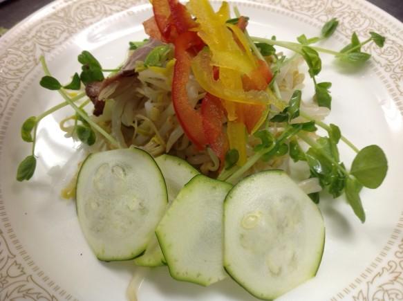 ④時季野菜のサラダ